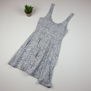 Urban Outfitters Ecoté Fit and Flare Aztec Dress